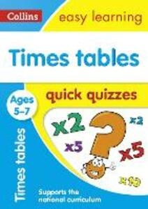 Times Tables Quick Quizzes Ages 5-7 - cover
