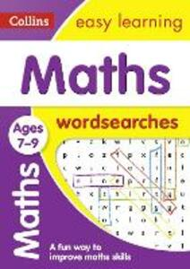 Maths Word Searches Ages 7-9 - Collins Easy Learning - cover
