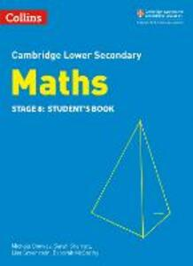 Lower Secondary Maths Student's Book: Stage 8 - Michele Conway,Belle Cottingham,Alastair Duncombe - cover