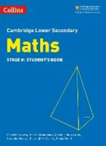 Lower Secondary Maths Student's Book: Stage 9 - Michele Conway,Belle Cottingham,Alastair Duncombe - cover