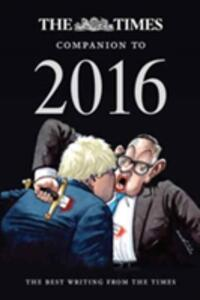 The Times Companion to 2016: The Best Writing from the Times - cover