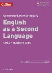 Lower Secondary English as a Second Language Teacher's Guide: Stage 7 - Nick Coates - cover