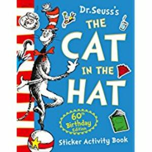 The Cat in the Hat Sticker Activity Book - Dr. Seuss - cover
