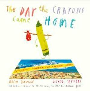 The Day The Crayons Came Home - Drew Daywalt - cover
