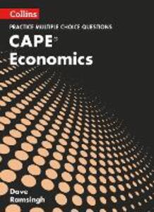 CAPE Economics Multiple Choice Practice - Dave Ramsingh - cover