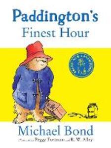 Paddington's Finest Hour - Michael Bond - cover