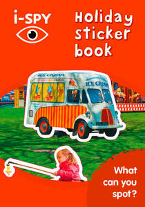 i-SPY Holiday Sticker Book: What Can You Spot? - i-SPY - cover