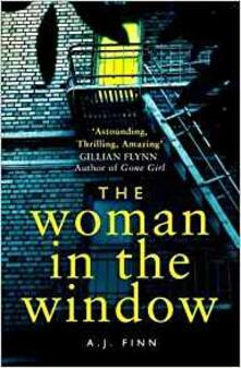 The Woman in the Window - A. J. Finn - cover