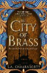 The City of Brass - S. A. Chakraborty - cover