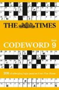 The Times Codeword 9: 200 Cracking Logic Puzzles - The Times Mind Games - cover