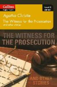 Witness for the Prosecution and other stories: B1 - Agatha Christie - cover