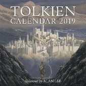 Libro in inglese Tolkien Calendar 2019