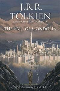 The Fall of Gondolin - J. R. R. Tolkien - cover