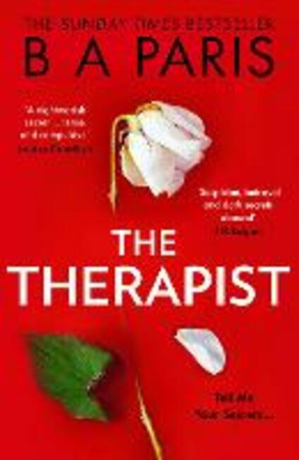 The Therapist - B A Paris - cover