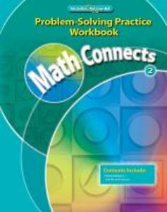 Math Connects, Grade 2, Problem Solving Practice Workbook - McGraw-Hill Education - cover