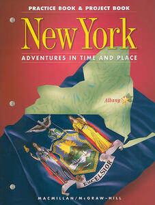 New York Practice Book & Project Book, Grade 4 - cover