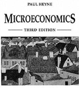 Microeconomics - Paul L. Heyne - cover