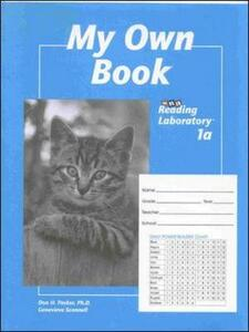 Developmental 1 Reading Lab, Student Record Book - My Own Book, Grades 1-3 - McGraw-Hill Education - cover