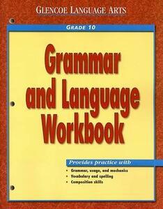 Work Book: Wb Gr10 Grammar & Language - GLENCOE - cover