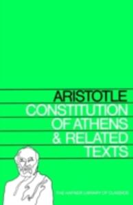 Constitution of Athens and Related Texts - Aristotle - cover