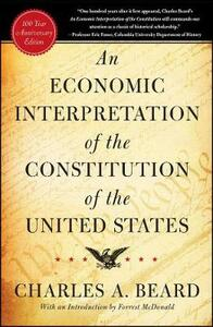 An Economic Interpretation of the Constitution of The United States - Charles A. Beard - cover