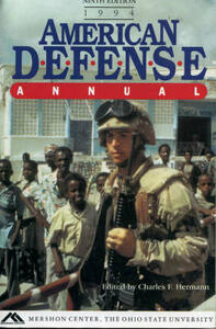 American Defence Annual, 1994 - Charles F. Hermann - cover