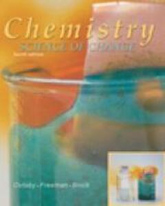 Chemistry: Science of Change - David Oxtoby - cover