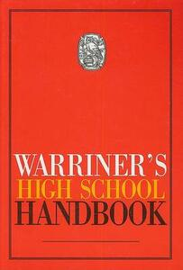Holt Traditions Warriner's Handbook: Student Edition Core Text (Hardcover) Grades 9-12 1992 - cover