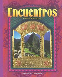 Curso de Intro (Intro Crs) Encuentros 97 - Rheinhart And Winston Holt - cover