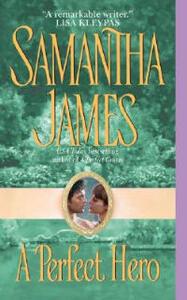 A Perfect Hero - Samantha James - cover