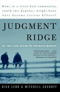 Judgement Ridge - Dick Lehr,Mitchell Zuckoff - cover
