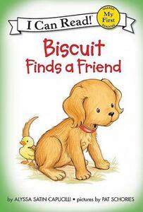 Biscuit Finds a Friend - Alyssa Satin Capucilli - cover