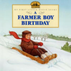 A Farmer Boy Birthday - Laura Ingalls Wilder - cover