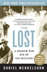 The Lost: A Search for Six of Six Million - Daniel Mendelsohn - cover