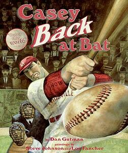 Casey Back at Bat - Dan Gutman - cover