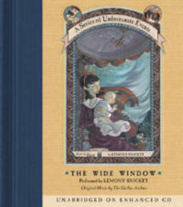 The Wide Window - Lemony Snicket - cover