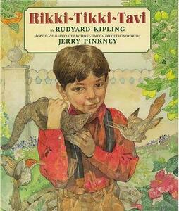 Rikki-Tikki-Tavi - Rudyard Kipling,Jerry Pinkney - cover