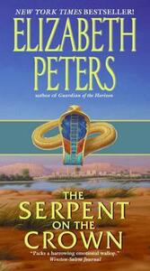 The Serpent on the Crown - Elizabeth Peters - cover