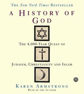 The History of God CD: The 4,000 Year Quest - Karen Armstrong - cover