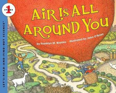 Air Is All Around You - Franklyn M Branley - cover