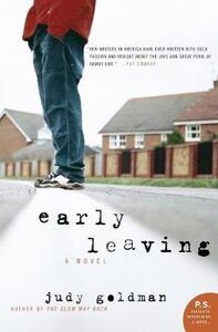 Early Leaving: A Novel - Judy Goldman - cover