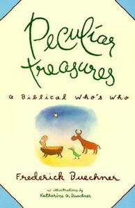 Peculiar Treasures - Frederick Buechner - cover