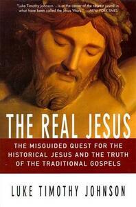 The Real Jesus - Luke Timothy Johnson - cover