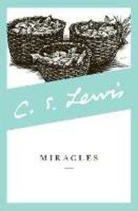 Miracles - C. S. Lewis - cover