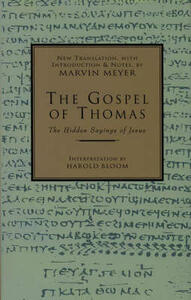 The Gospel of Thomas - Marvin Meyer - cover