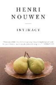 Intimacy - Henri Nouwen - cover