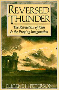 Reversed Thunder - Eugene Peterson - cover