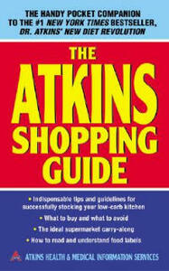 The Atkins Shopping Guide - Health Atkins,Medical Information - cover