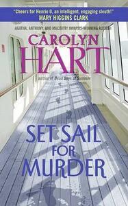 Set Sail for Murder - Carolyn Hart - cover