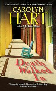 Death Walked in - Carolyn Hart - cover